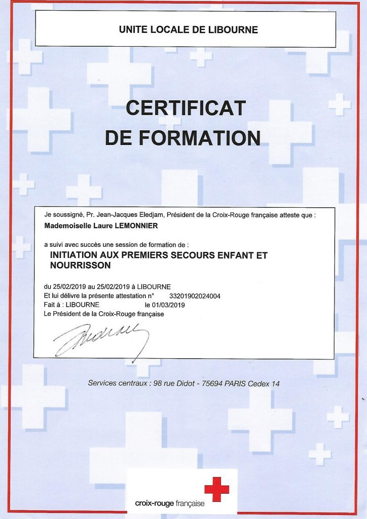attestation secouriste e1551808591688 724x1024 724x1024 A propos de Laure